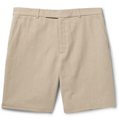 Steven Alan Oliver Cotton and Linen-Blend Shorts