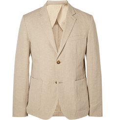 Steven Alan Oliver Cotton and Linen-Blend Blazer