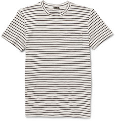 Steven Alan Striped Cotton-Jersey T-Shirt