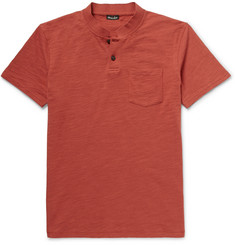 Steven Alan Slubbed Cotton Polo Shirt