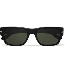 Persol Foldable Acetate and Metal Sunglasses