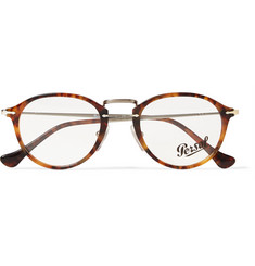 Persol Round-Frame Acetate and Metal Optical Glasses