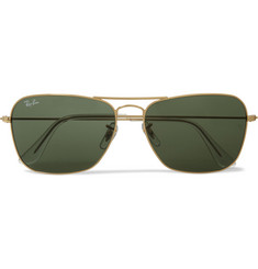 Ray-Ban Caravan Metal D-Frame Sunglasses
