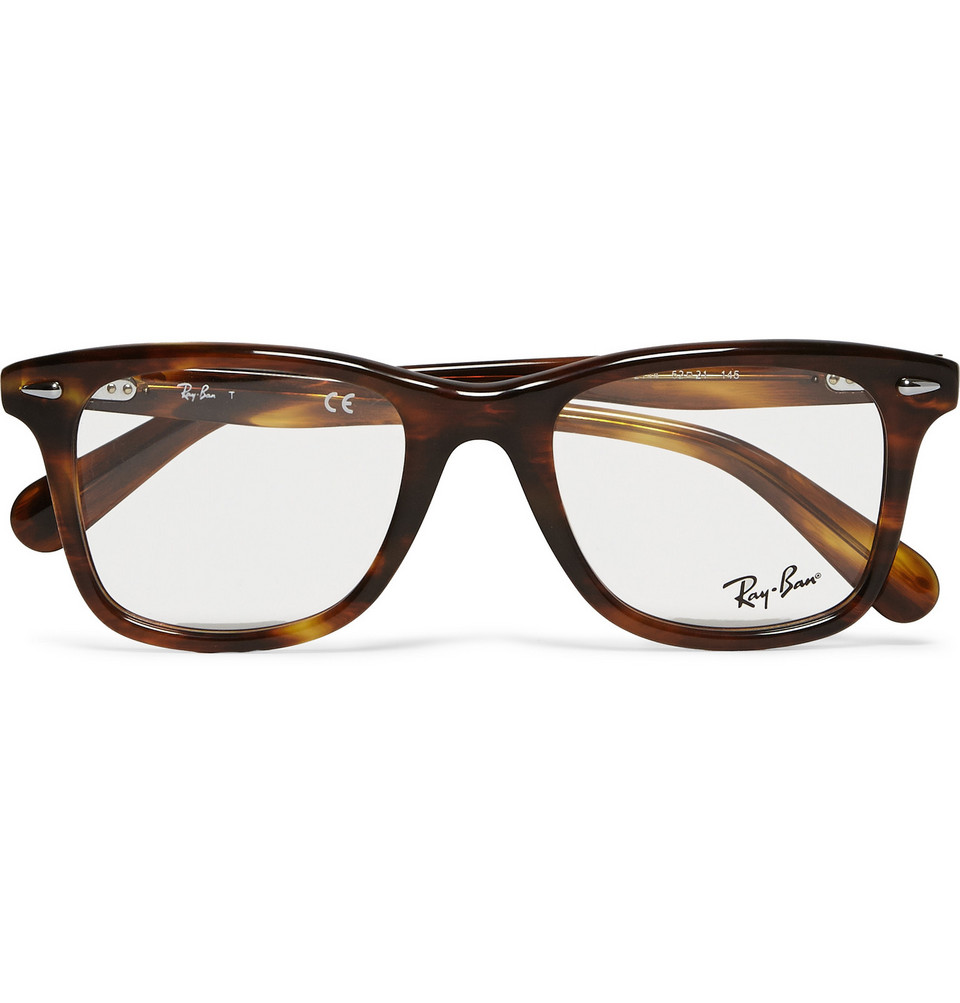 Original Wayfarer Square Frame Acetate Optical Glasses Tortoiseshell