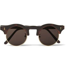 Illesteva Corsica Acetate and Metal Sunglasses