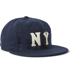 Ebbets Field Flannels 1936 New York Black Yankees Wool-Broadcloth Baseball Cap