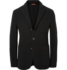 Barena Unstructured Woven Wool-Blend Blazer