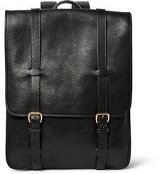 Lotuff Full-Grain Leather Backpack