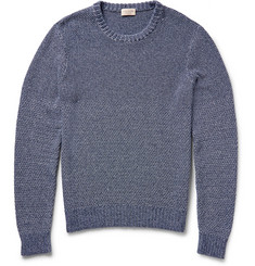 Club Monaco Split-Stitch Cotton Sweater