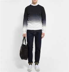 Club Monaco Dégradé Cotton-Jersey Sweatshirt