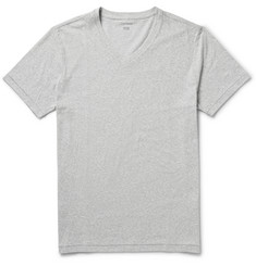 Club Monaco Cotton-Blend Melange T-Shirt
