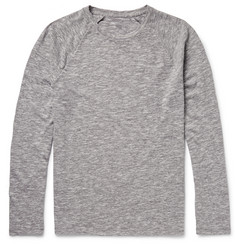 Club Monaco Slubbed Cotton-Blend Jersey T-Shirt