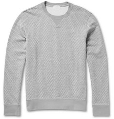 Club Monaco Jacquard Cotton-Blend Jersey Sweatshirt