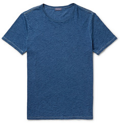 Club Monaco Indigo-Dyed Cotton T-Shirt