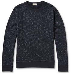 Club Monaco Slubbed Cotton-Blend Jersey Sweatshirt