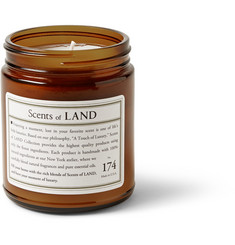 Land By Land No. 174 Patchouli Scented Small Candle