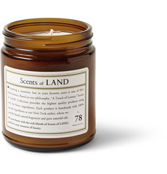 Land By Land No. 78 Cedar Scented Small Candle