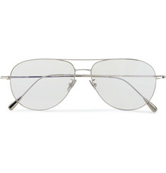 Cutler and Gross Palladium-Plated Aviator Optical Glasses