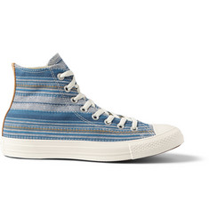 Converse 1970s All Star Chuck Taylor Striped Canvas High-Top Sneakers