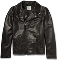 Club Monaco - + Golden Bear Leather Biker Jacket