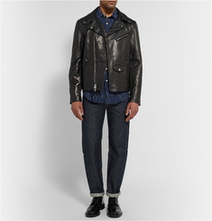 Club Monaco + Golden Bear Leather Biker Jacket