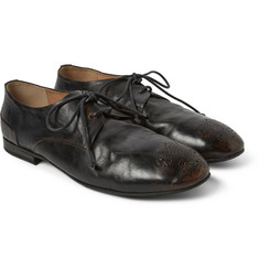 Marsell Burnished Leather Brogues