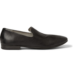 Marsell Washed-Leather Slippers