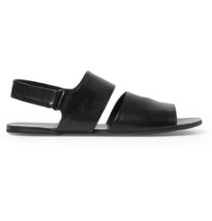 Marsell Two-Strap Leather Sandals