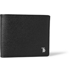 Tod's Cross-Grain Leather Billfold Wallet