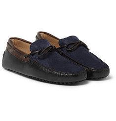 Tod's Gommino Suede and Leather Driving Shoes