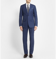 Lutwyche Blue Check Wool Suit
