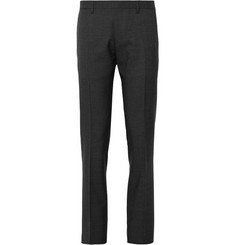 Burberry London Dark Grey Millbank Wool Suit Trousers