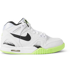 Nike Air Tech Challenge II Faux-Leather Sneakers