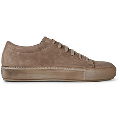 Acne Studios Adrian Suede Low Top Sneakers