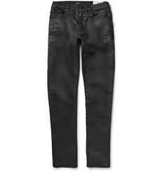 Belstaff Knightley Slim-Fit Coated Denim Jeans