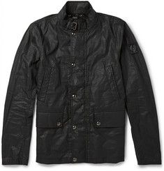 Belstaff Slim-Fit Gladstone Coated Linen Jacket
