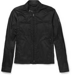 Belstaff Woodburn Coated-Cotton Bomber Jacket