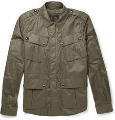Belstaff Gardiner Coated-Cotton Overshirt