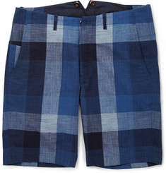 J.Crew Slim-Fit Buffalo Checked Cotton Shorts