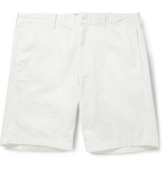 J.Crew Stanton White Cotton-Twill Shorts