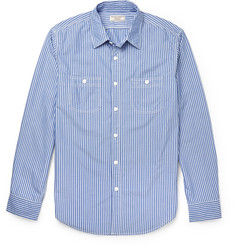 J.Crew Slim-Fit Striped Cotton Shirt