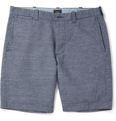 J.Crew Stanton Cotton and Linen-Blend Shorts