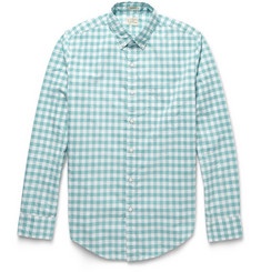 J.Crew Washed Gingham Cotton Shirt