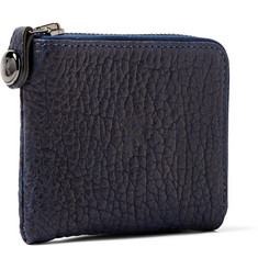 Parabellum Courier Zip-Around Leather Wallet