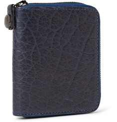 Parabellum Courier Zip-Around Leather Billfold Wallet