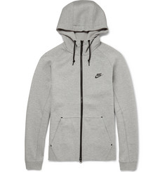 Nike Tech Fleeceback Cotton-Blend Hoodie