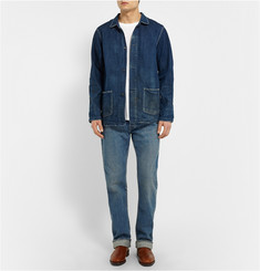 Chimala Selvedge Washed-Denim Jeans