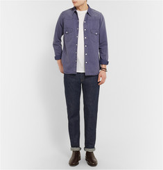 Chimala Relaxed-Fit Rinsed Selvedge Denim Jeans