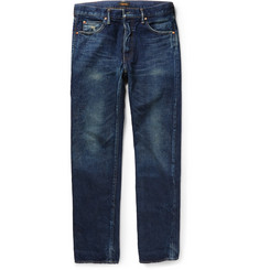 Chimala Slim-Fit Selvedge Washed-Denim Jeans