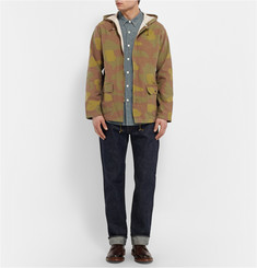 Chimala Camouflage-Print Cotton Jacket